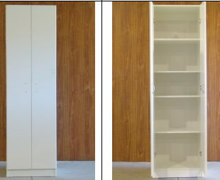 PNM51 All Shelf 2 Door Pantry