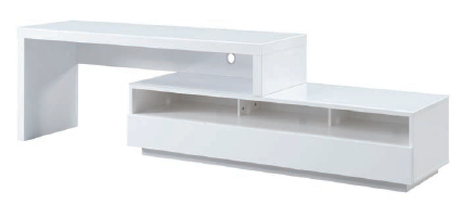 Stretch Entertainment Unit in White