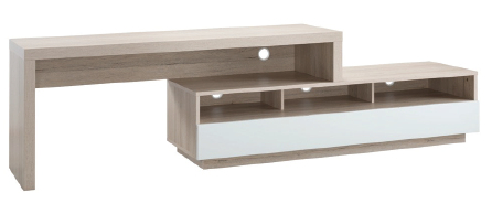 Stretch Entertainment Unit in Oak