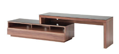 Stretch Entertainment Unit in Walnut