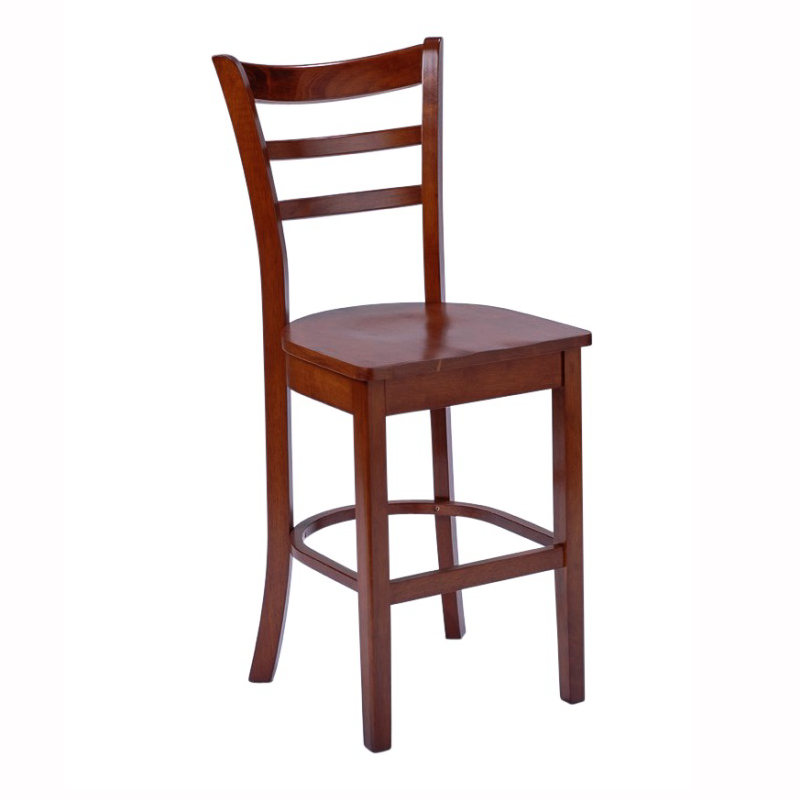 Benowa Timber Seat Bar Stool