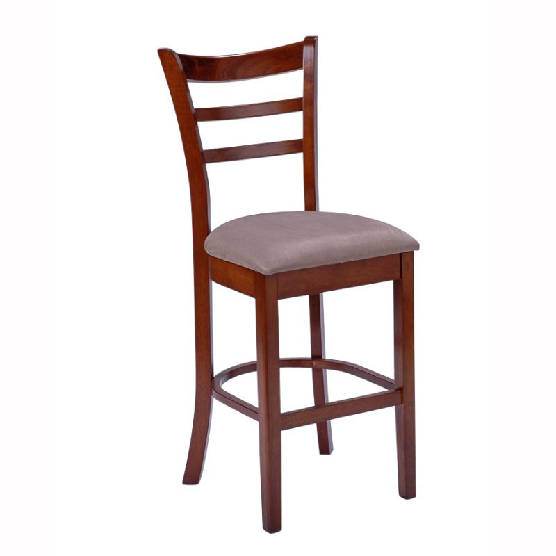 Benowa Upholstered Seat Bar Stool