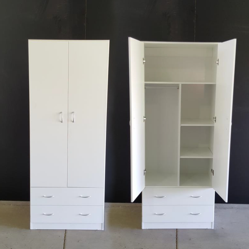 Combo 2 Door 2 Drawer Wardrobe