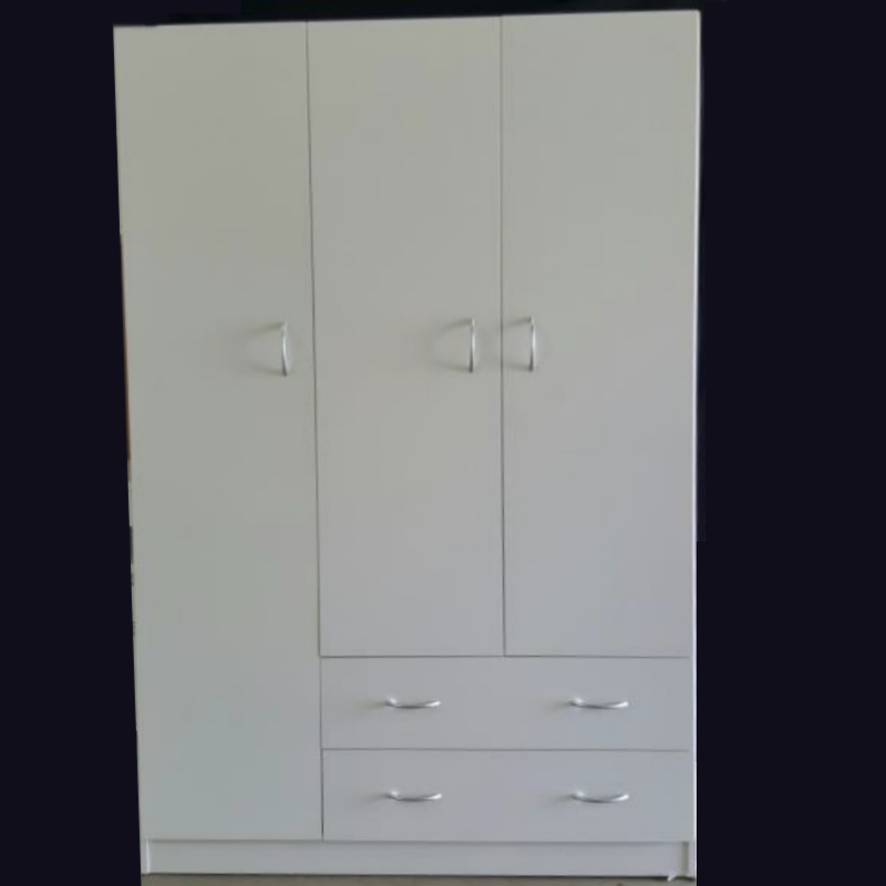 3 Door 2 Drawer Wardrobe