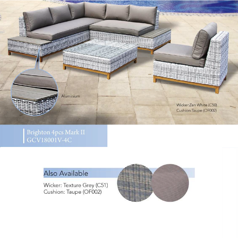 Brighton Mark II 4pce Patio Set