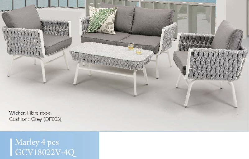Marley 4pce Patio Set