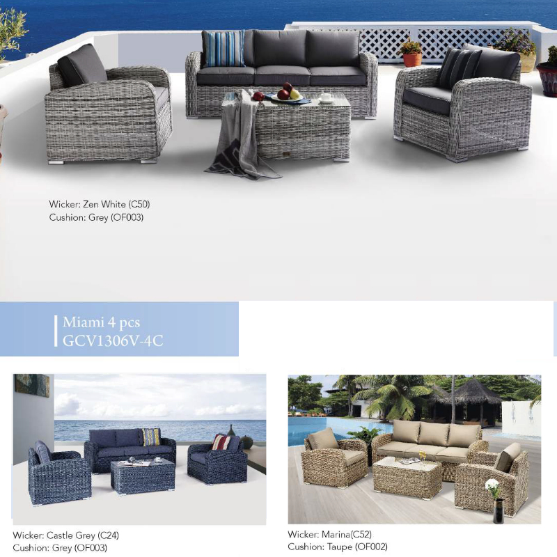 Miami 4pce Patio Set