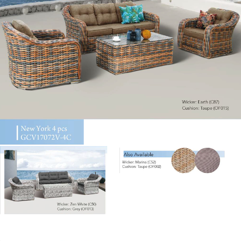 New York 4pce Patio Set