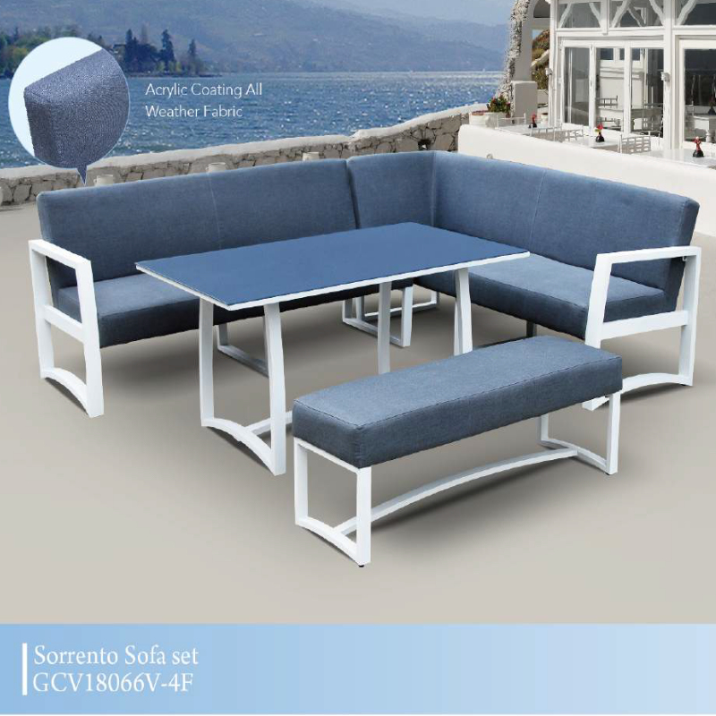 Sorrento Patio Corner Sofa Set