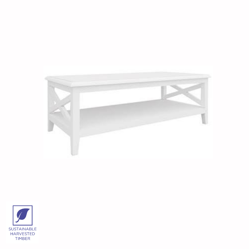 Modern Hamptons Rectangular Coffee Table