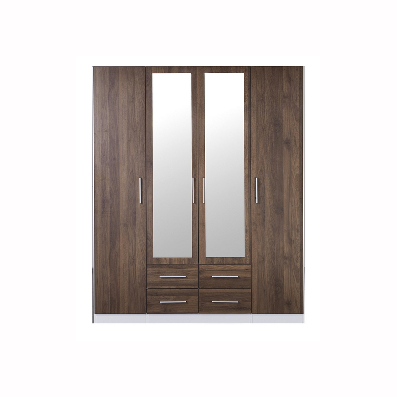Zetland Wardrobe and Mirror